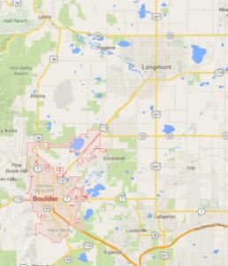 Boulder Personal Trainer Service Area